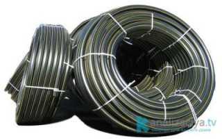 Полиэтиленовые трубы канализационные: размеры и цена