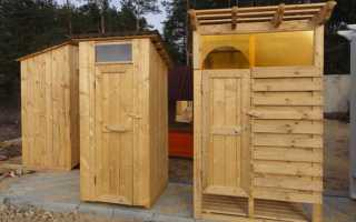 Туалет душ для дачи — возможные варианты строительства