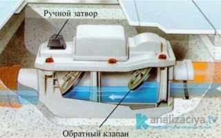 Клапан для канализационной трубы: виды, размеры и цены