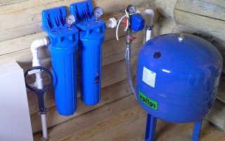 Правильное подключение гидроаккумулятора к системе водоснабжения – инструкция по установке