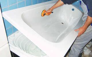 Установка акрилового вкладыша в ванну – важные подробности, инструкция