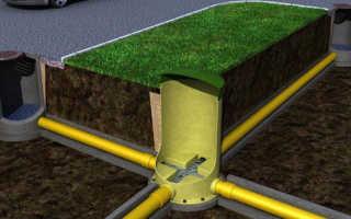 Монтаж канализационного колодца, пластикового и бетонного, примеры
