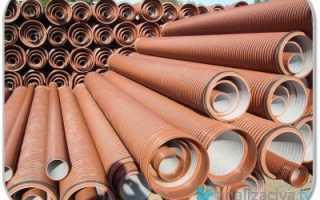 Трубы для наружной канализации: размеры и цена