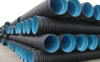 Гофрированная дренажная труба — преимущества материала