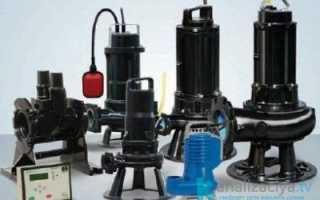 Дренажные и фекальные насосы для грязной воды и канализации
