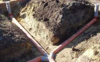 Глубина канализации в частном доме — что и как по нормам