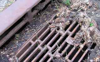 Прочистка ливневой канализации – современные методы и приспособления, избавляющие от засора