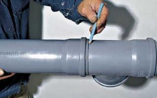 Как соединить канализационные пластиковые трубы — выбираем способ