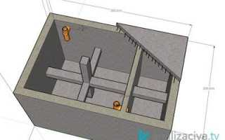 Септик в частном доме своими руками: схемы и чертежи