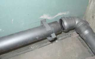 Монтаж канализационных труб своими руками — варианты и способы