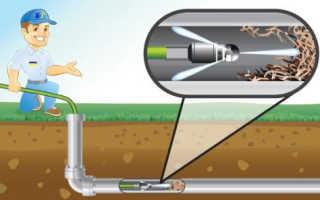 Машина для прочистки канализации — принцип работы и варианты очистки труб
