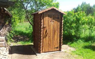Туалет на даче с выгребной ямой: устройство своими руками