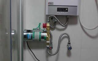Как установить насос для повышения давления воды в квартире – выбор, правила монтажа