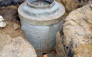 Устройство канализационных колодцев разных видов