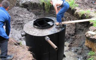 Канализация при высоком уровне грунтовых вод, как сделать правильно