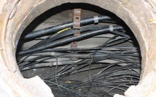 Кабельные канализации связи: прокладка кабельной канализации