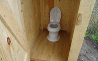 Туалет на даче с унитазом – типы и принципы эксплуатации