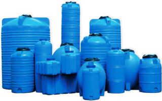 Пластиковая выгребная яма, виды и способы установки емкости