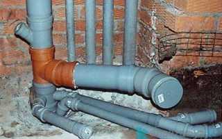 Как врезаться в канализационную пластиковую трубу?