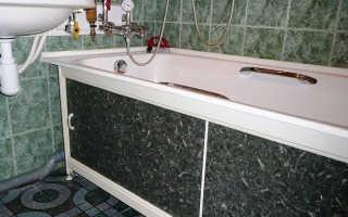 Как установить экран под ванну – советы, рекомендации, варианты установки