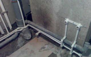 Разводка канализации в ванной комнате — порядок выполнения установки
