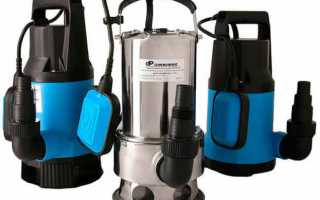 Дренажный насос с поплавковым выключателем, устройство и принцип работы