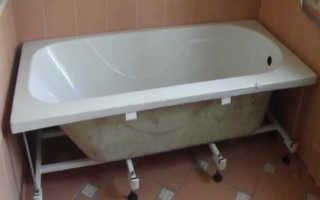 Монтаж акриловой ванны — инструкция по установке своими руками