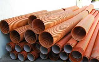 Полипропиленовые трубы для канализации — виды и характеристики
