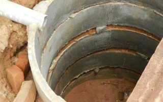 Схема септика из бетонных колец своими руками — не делаем ошибок