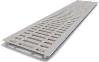 Ливневая решетка для ливневой канализации — как правильно выбрать