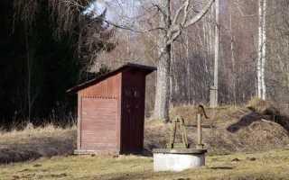 Туалет на даче с выгребной ямой – виды сооружения и типы ям, их плюсы и минусы
