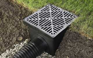 Как выбрать и установить дождеприемники для ливневой канализации – теория и практика