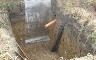 Выгребная яма для бани, как сделать правильно