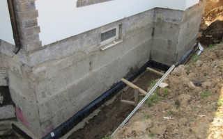 Делаем дренаж фундамента дома своими руками правильно