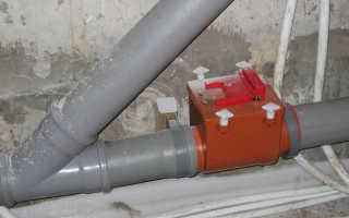 Установка обратного клапана на канализацию — как установить правильно