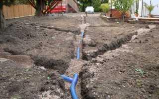 Дренажная система вокруг дома: как защитить фундамент от подтопления
