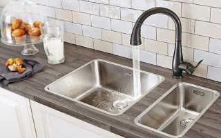 Как установить раковину на кухне – советы по правильной установке мойки