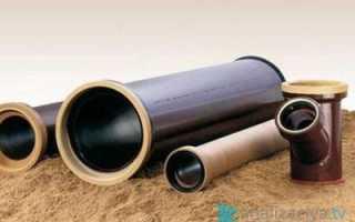 Керамические канализационные трубы: виды, размеры и цена