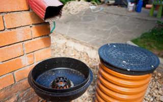 Колодцы для ливневой канализации — варианты устройства