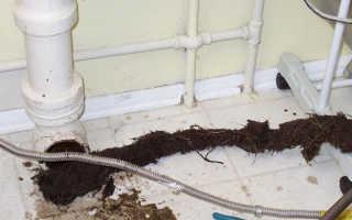 Чистка канализации в частном доме — как и чем лучше это сделать