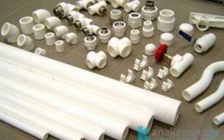Фитинги для канализационных ПВХ труб: виды, размеры и цены