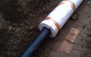 Утепление канализационных труб своими руками — варианты и правила выполнения работ