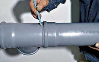 Раструб канализационной трубы — виды и способы стыковки