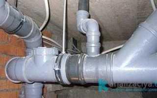 Что делать, если замерзла канализационная труба?