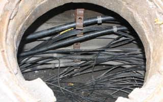 Телефонная канализация — устройство на примерах