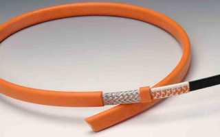 Какой греющий саморегулирующий кабель для водопровода лучше выбрать и как его использовать правильно