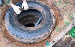 Как сделать выгребную яму из покрышек: схема, этапы работы и рекомендации
