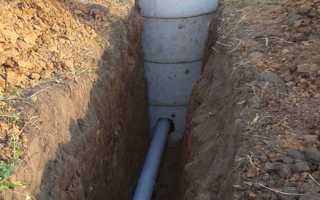 На какую глубину закапывать канализационную трубу в грунт