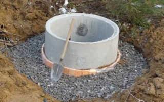 Как сделать выгребную яму из бетонных колец своими руками