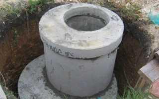 Яма выгребная из бетонных колец: устройство, виды и цена